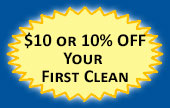$10 or 10% OFF your first Maid to Perfection clean